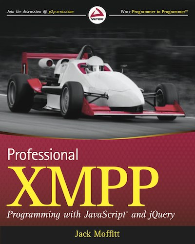Book cover of Professional XMPP Programming